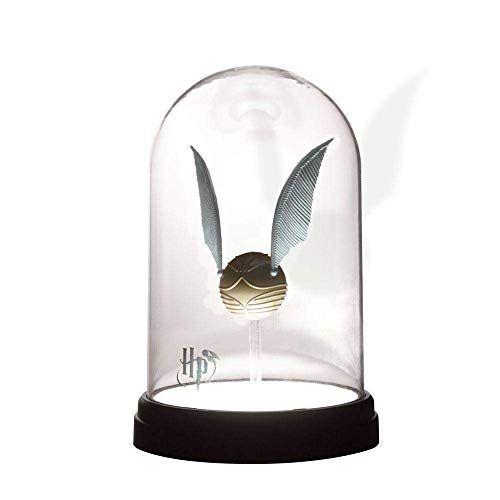 'Harry Potter': la lámpara con snitch dorada - Amazon