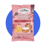 The Real Coconut Coconut Flour Tortilla Chips, Himalayan Pink Salt