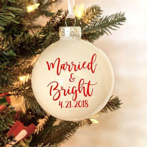 White House Laser Cut Christmas Ornaments 2021 20 Best Wedding Ornaments For Your Christmas Tree Wedding Christmas Ornaments To Buy Now
