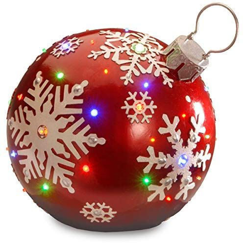 Best Large Outdoor Christmas Ornaments Giant Holiday Ornament Decorations