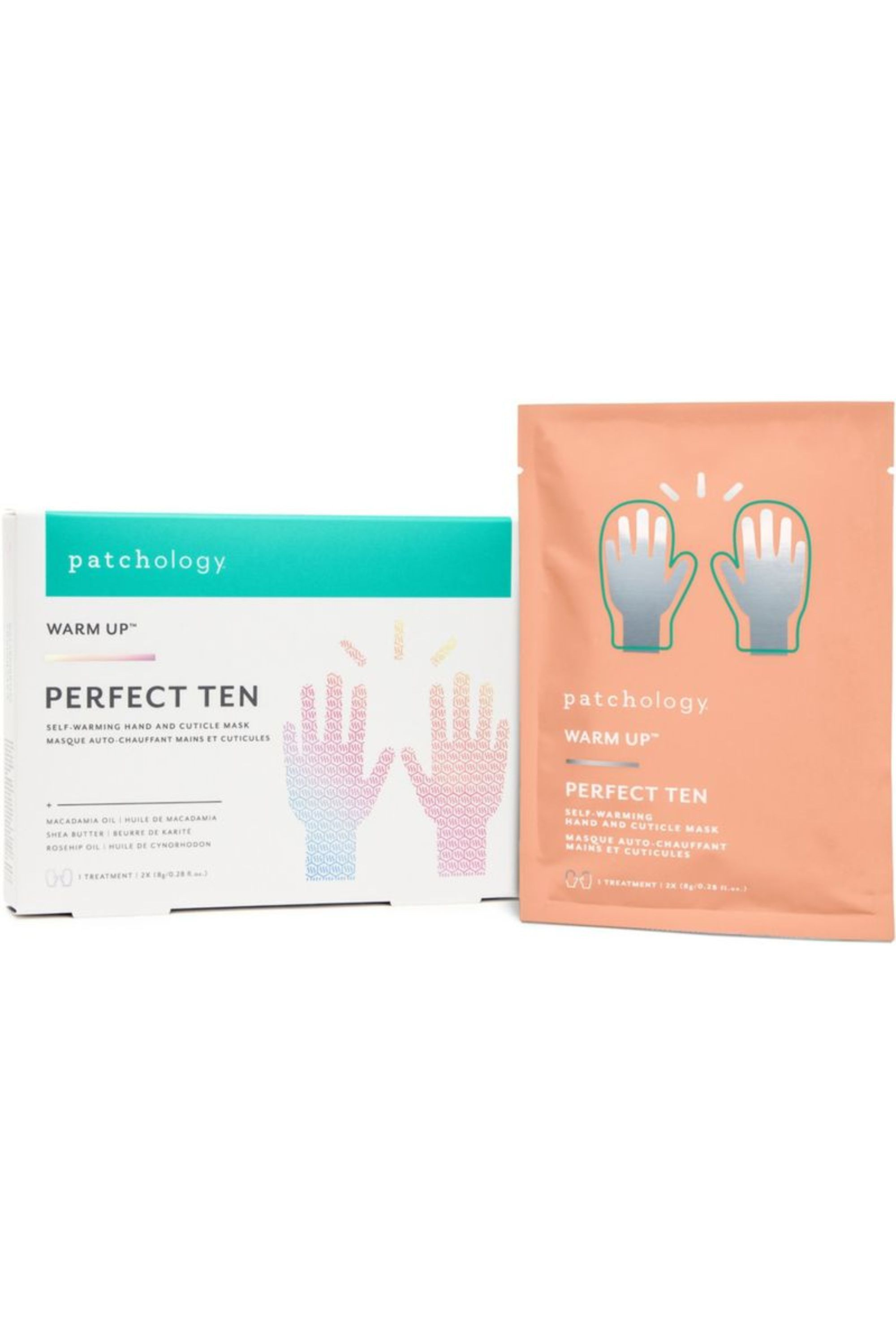 Salon Taupe Et Turquoise perfect ten self-warming hand & cuticle mask