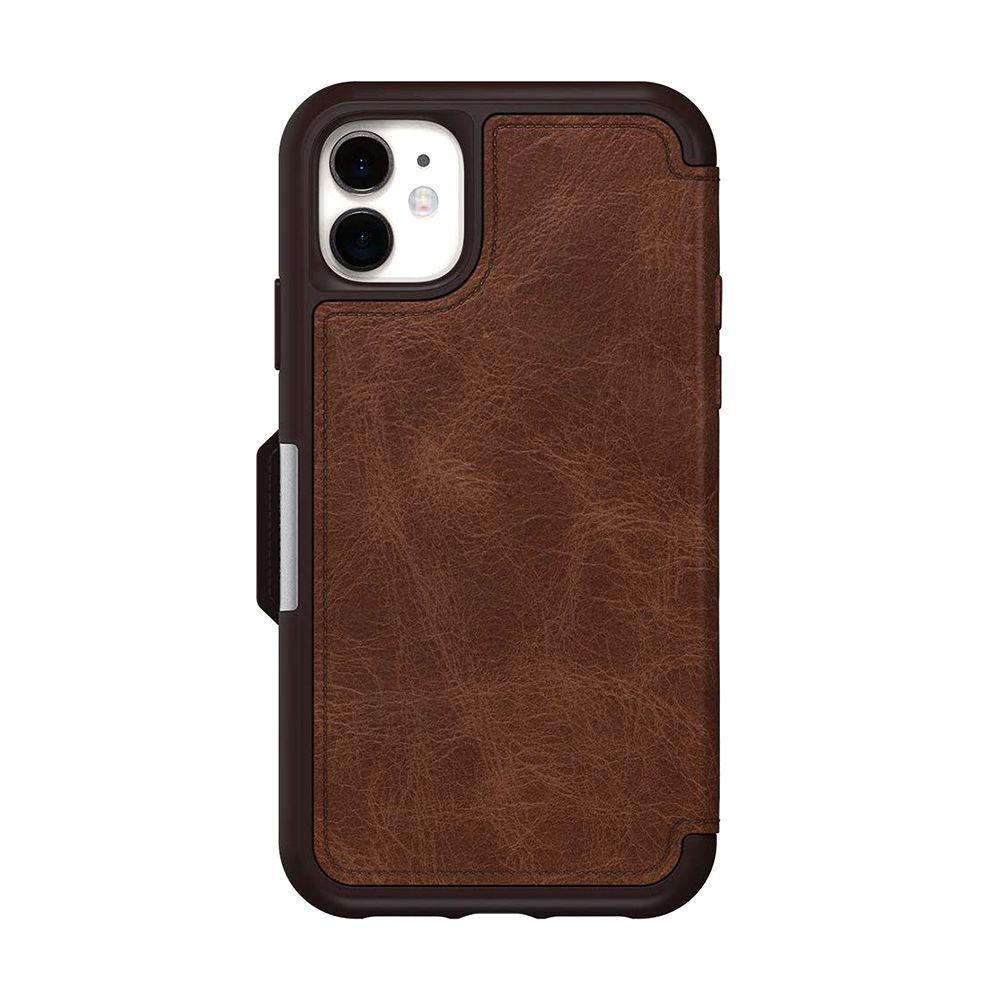 Leather Flip Case for iPhone 7 Wallet Cover with Viewing Stand and Card Slots Bussiness Phone Case with Free Waterproof Case