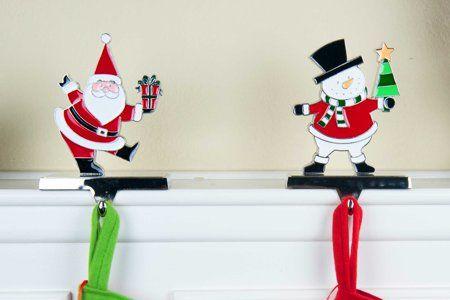 32 Stylish Christmas Stocking Holders For 2019 Best Christmas
