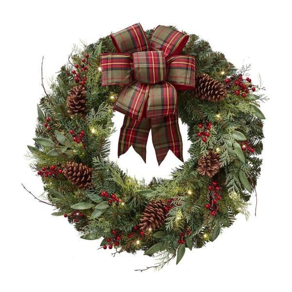 Christmas Decor Christmas Wreath Merry Christmas Wreath Christmas Gift Idea Gift