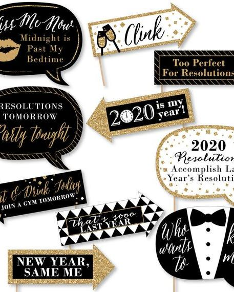 20 Best New Year Decorations 2020 New Year S Eve Party Decorations
