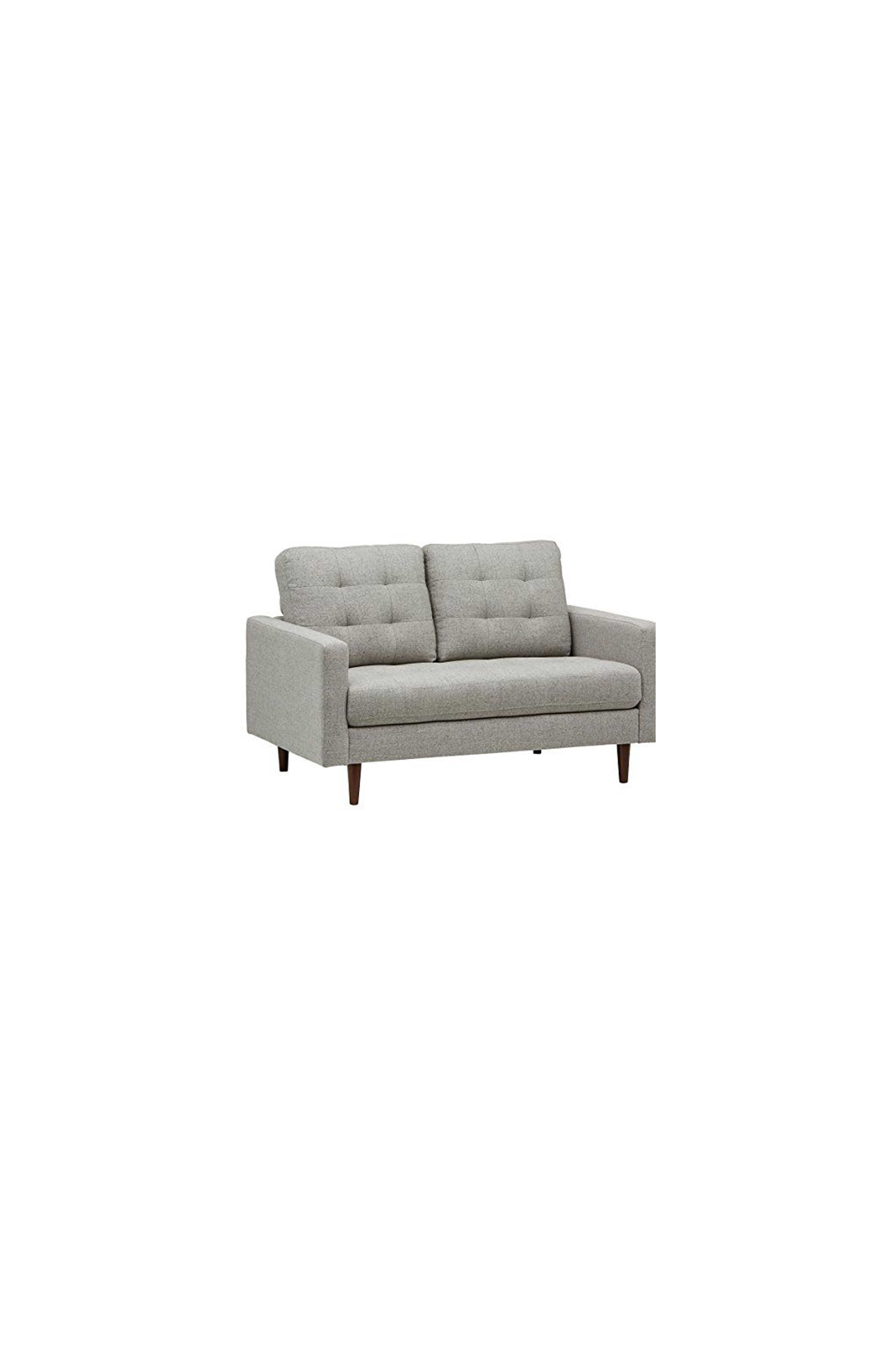 Surprising Rivet Cove Modern Tufted Loveseat With Tapered Legs Andrewgaddart Wooden Chair Designs For Living Room Andrewgaddartcom