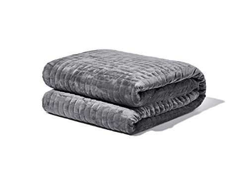 GENUINE 25 lb SPACE GREY GRAVITY BLANKET WEIGHTED ANXIETY THROW 200lb
