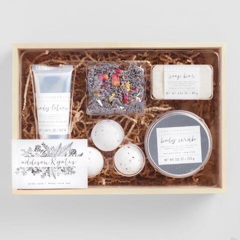 Ag Wild Rose Spa Gift Box