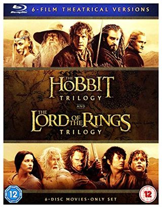 The Lord of the Rings / The Hobbit - 6 Blu-ray Movies