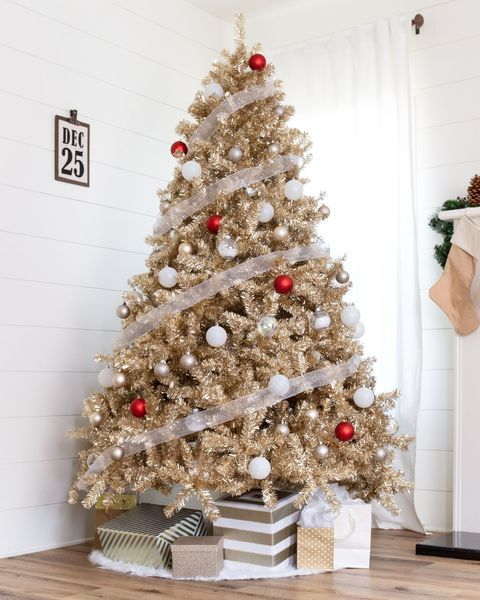 Fully Decorated Christmas Trees For Sale  from hips.hearstapps.com