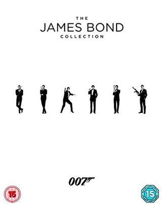 Koleksi James Bond 1-24 Blu-ray 2017