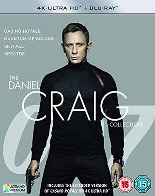 James Bond - Koleksi Daniel Craig 4K UHD + BD Blu-ray 2019