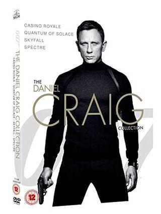 James Bond - DVD 4-Pack Koleksi Daniel Craig