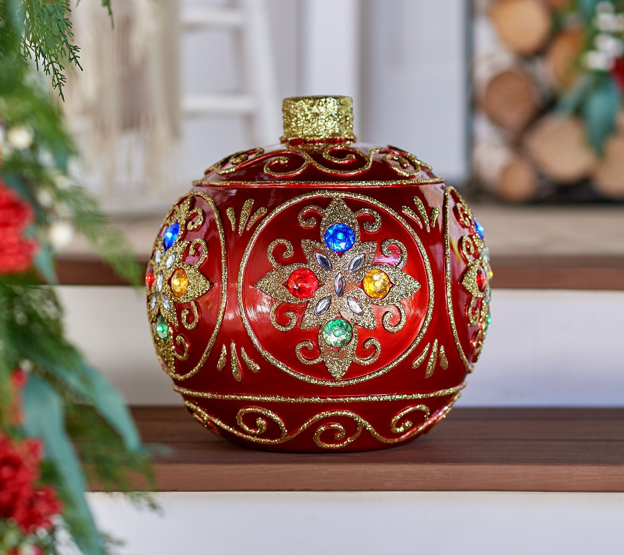 Vintage Outdoor Christmas Ornament