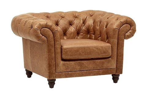 Genuine Leather Chesterfield Sofa Sets