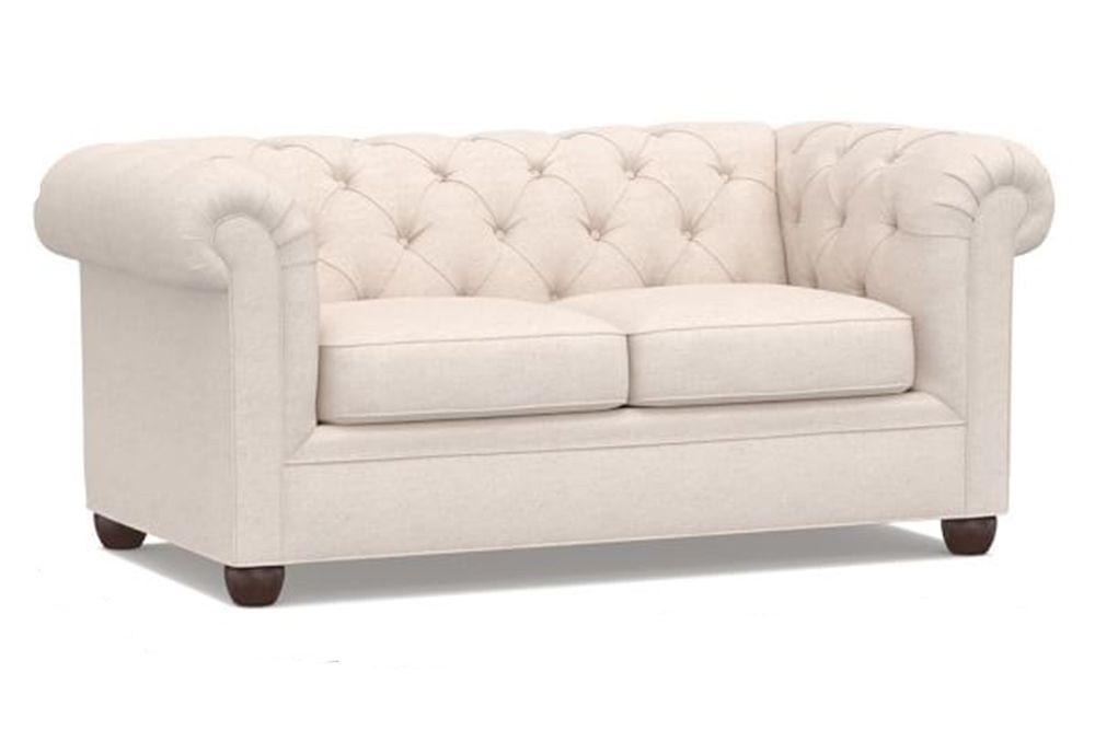 Pottery Barn Chesterfield Upholstered Sofa