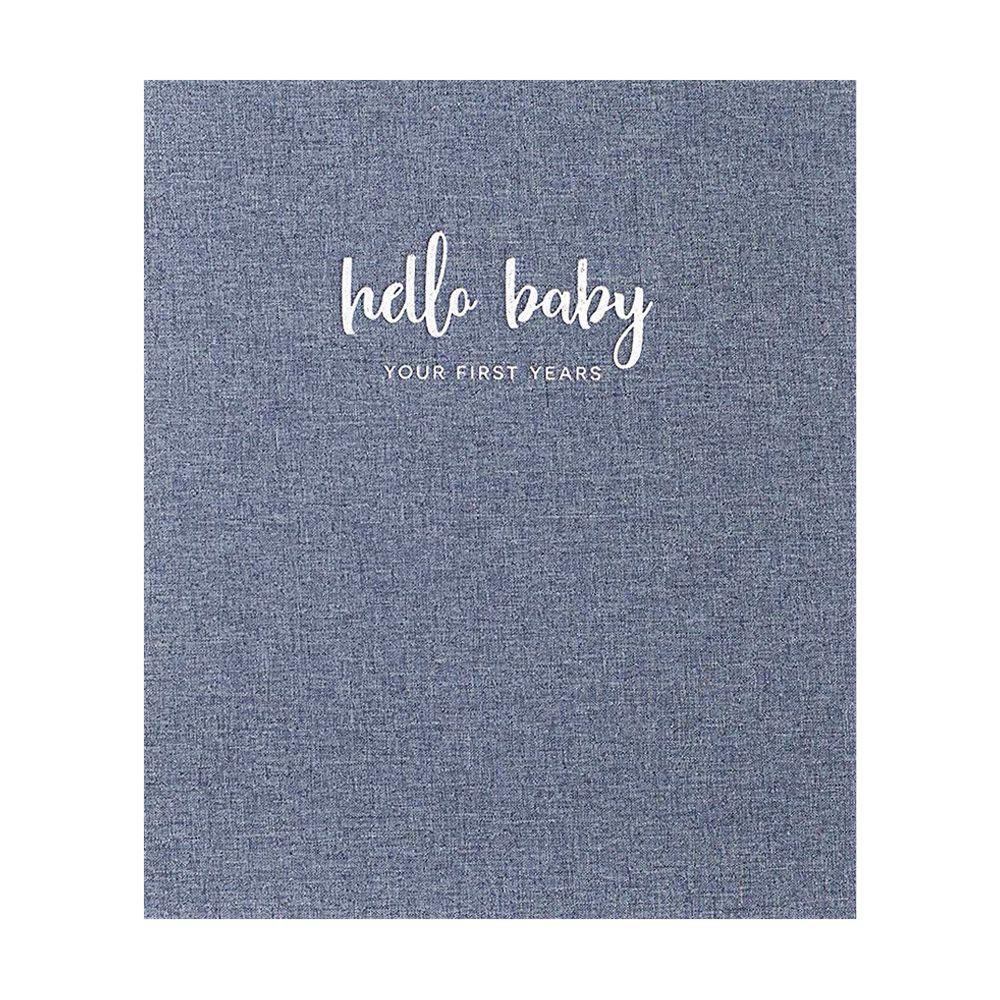 Peachly Minimalist Baby Memory Book