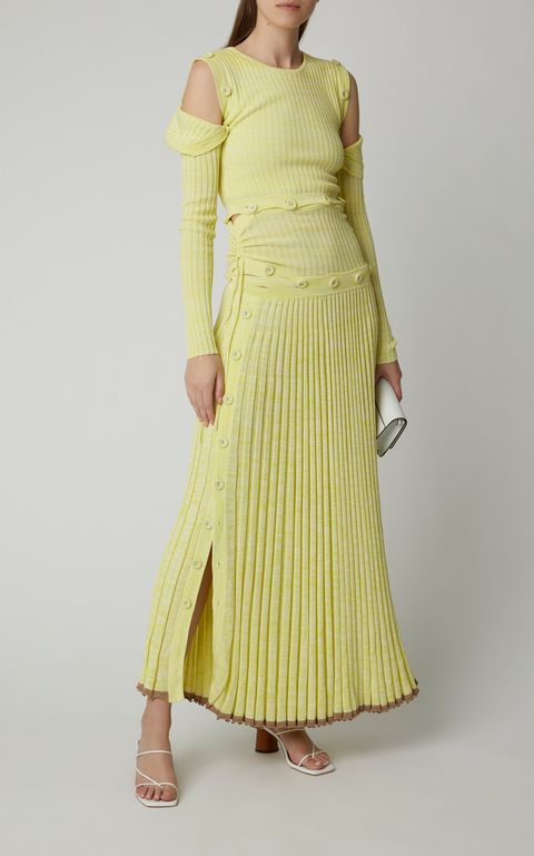 1576873426 large christopher esber yellow button embellished stretch knit maxi dress 1576873419