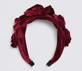 Zara Velvet Floral Headband