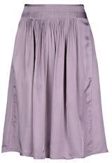 Lavender Satin Skirt