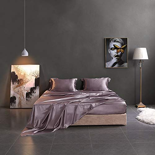 15 Best Silk Sheets Best Silk Bed Sheets To Buy 2021