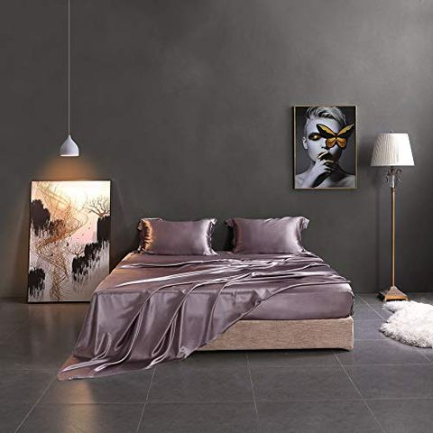15 Best Silk Sheets Bed, Queen Size Satin Bed Sheets