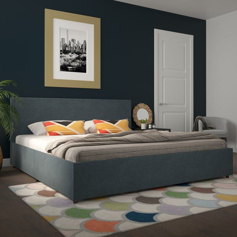 Best Space Saving Beds 25 Bed Frames, Upholstered Queen Platform Bed With Storage