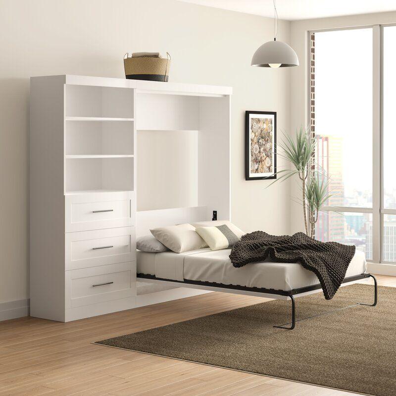 24 Best Space Saving Beds 2021, Queen Murphy Storage Platform Bed With Mattress