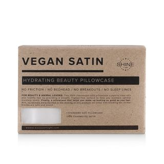 Night Vegan Satin Pillowcase