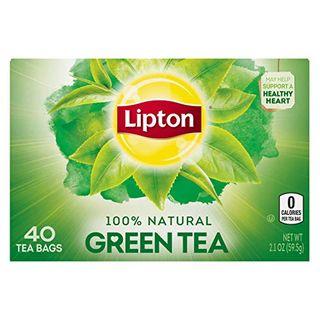 Sachets de thé vert Lipton
