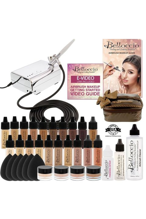 10 Best Airbrush Makeup Kits And Tips