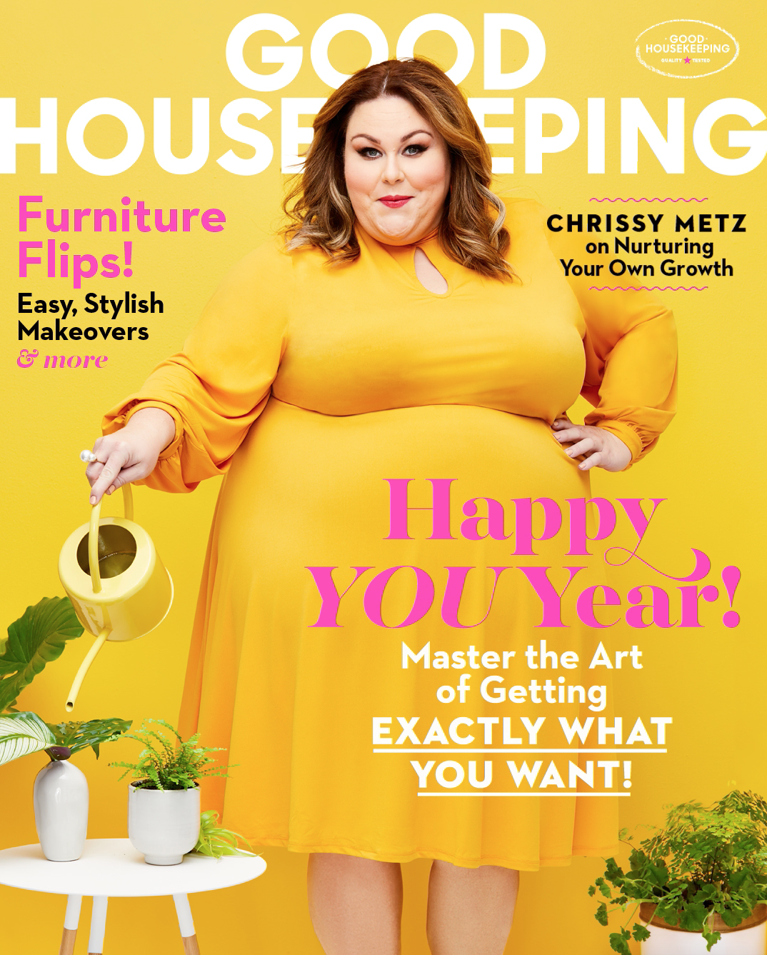 Metz Christmas Party 2020 This Is Us' Star Chrissy Metz on Her Goals for 2020   GH January