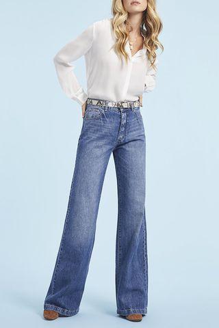 Hepburn Full length High Rise Wide Leg