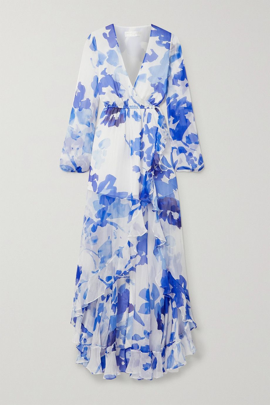MULTI-COLOURED SHINE EFFECT FLORAL PARTY DRESS
