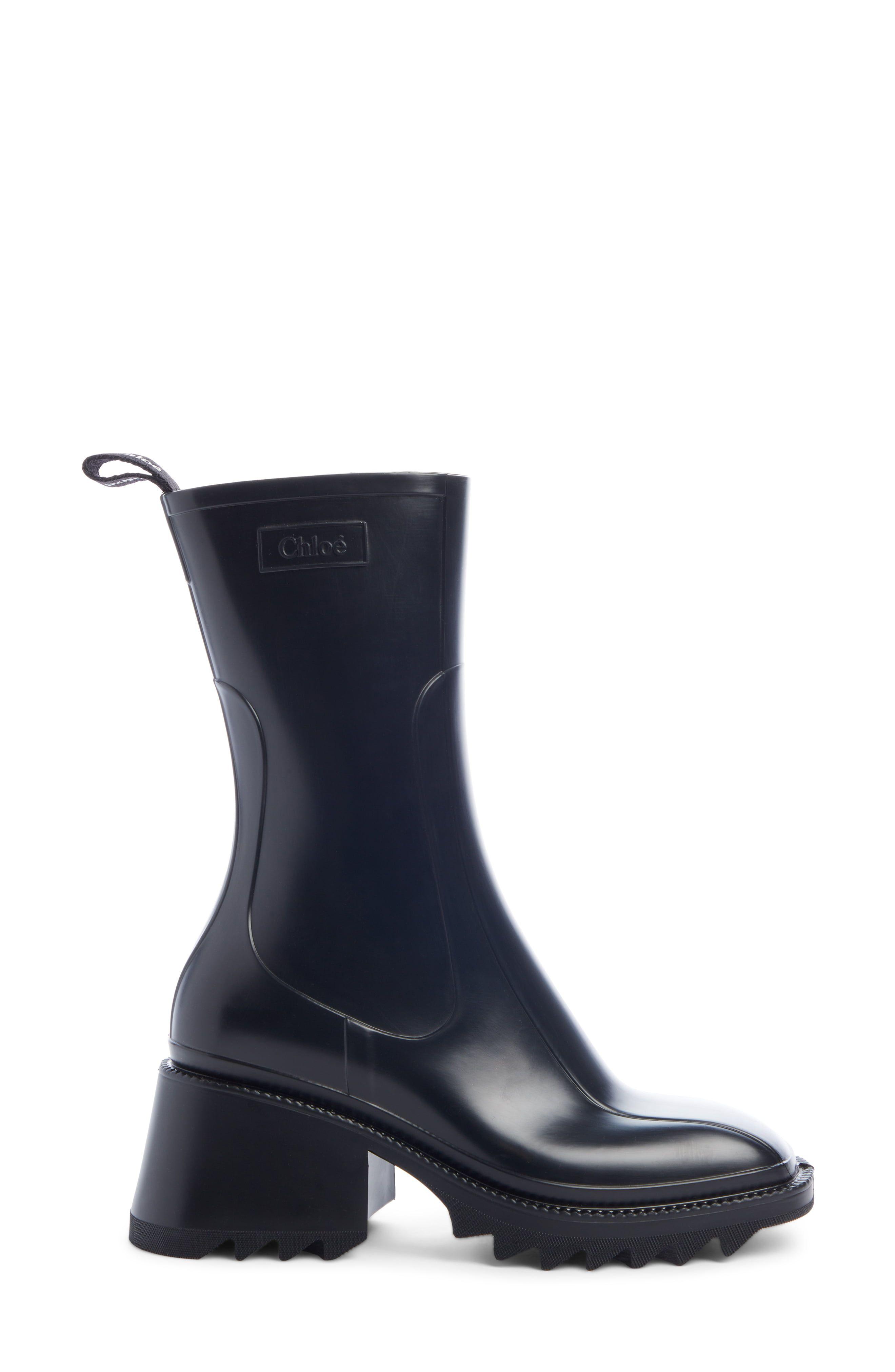 The PVC Betty Boot