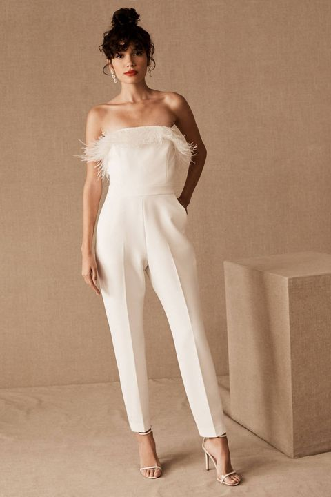 15 Bridal Jumpsuits 2020 White Pant Suits And White Jumpsuits