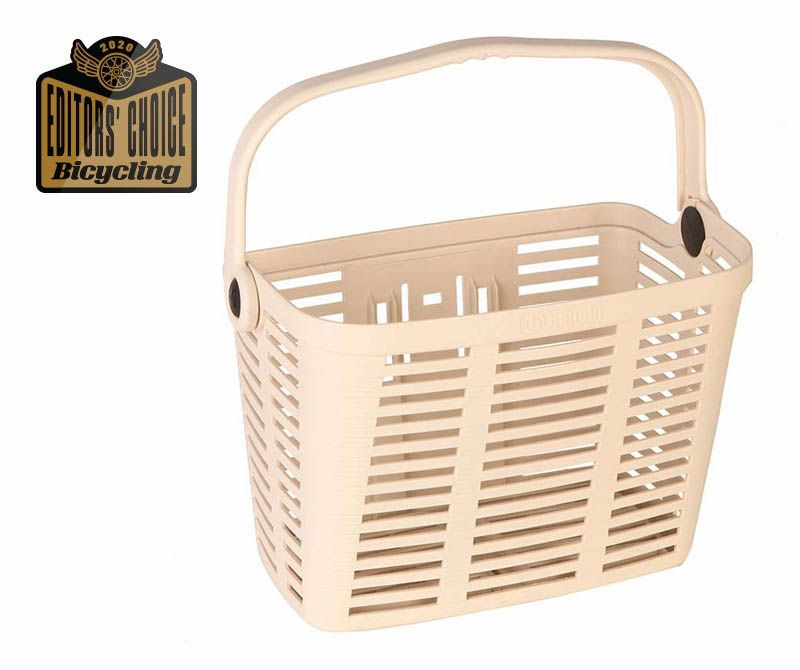 AXIOM QR Wicker Style Front Basket Bike Bicycle Riding Storage Brown NEW!