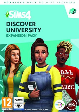 The Sims 4: Discover University (PC Code in Box)
