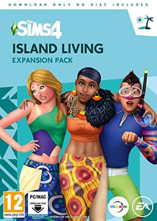 The Sims 4: Island Living Expansion Pack (PC Digital Download Code in a Box)
