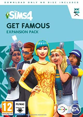 The Sims 4: Get Famous Expansion Pack (PC Download - Origin Code)