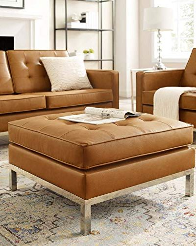 15 Best Ottoman Coffee Tables Leather Round And Tufted Ottoman Coffee Tables