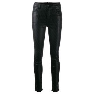 Zebra High Rise Skinny Jeans