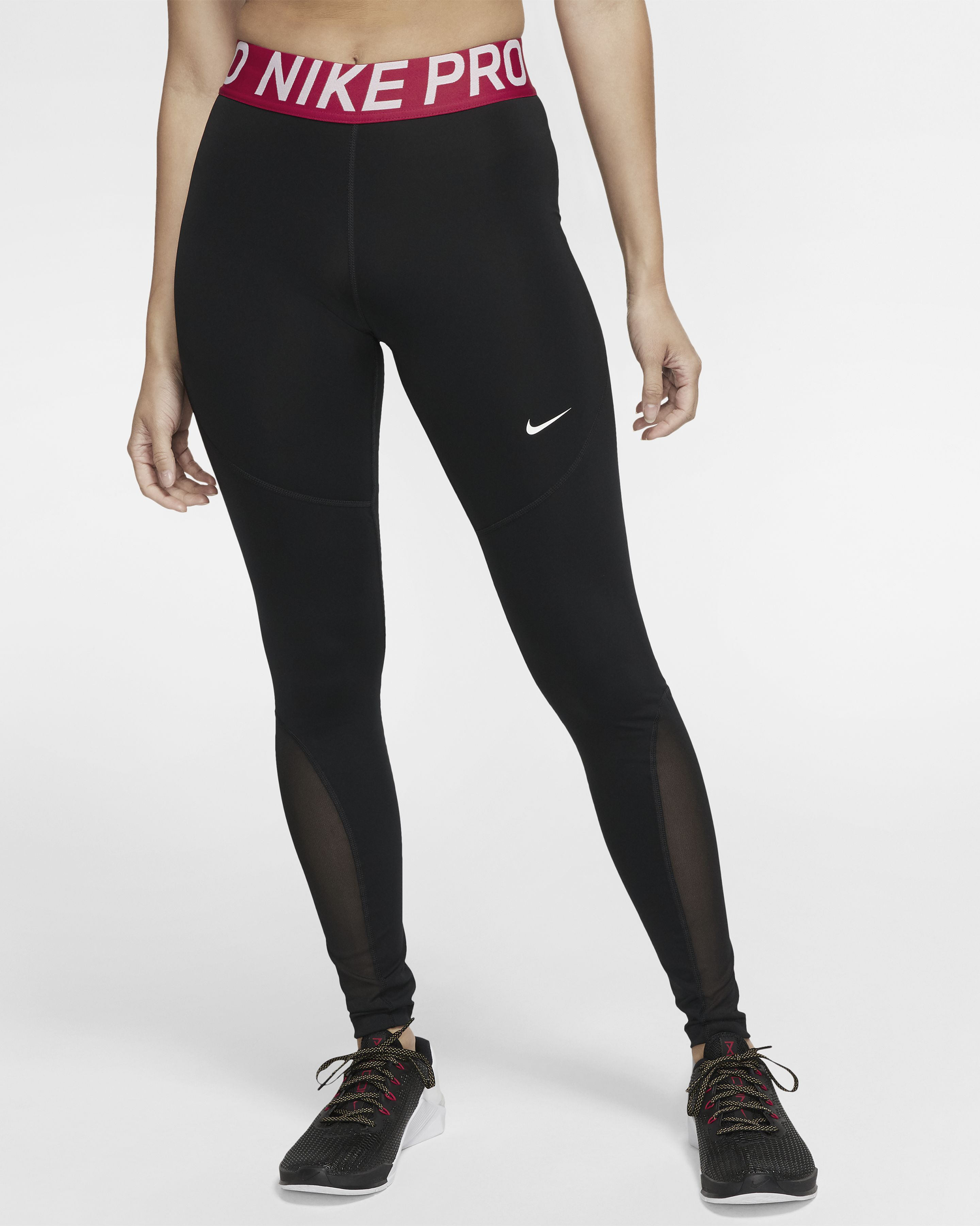 3 tick nike leggings