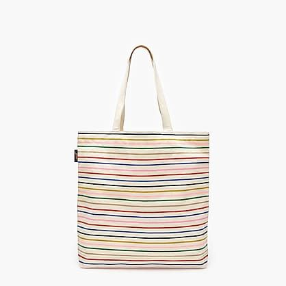 Beach Tote Bags Travel Shopping Zippered Tote for Women Fresh Macaron Overnight Handbag