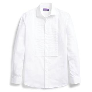 French-cuff shirt