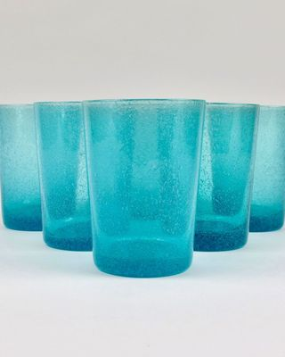 Set of 6 Recycled Glass Tumblers