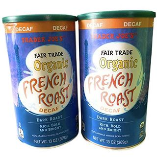 Trader Joe's Fair Trade Organic French Roast Decaf Coffee