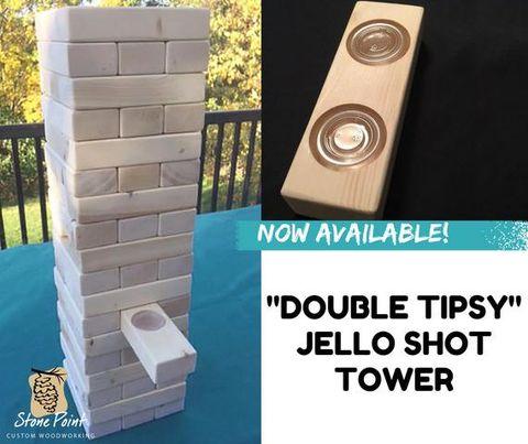 Double Tipsy Jello Shot Tower