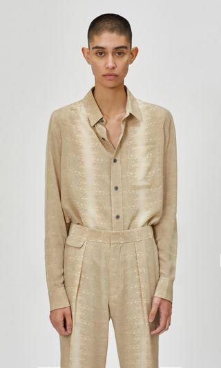 Slim Fit Silk Shirt