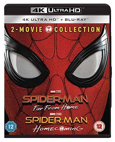 Spider-Man Far From Home & Spider-Man Homecoming [4K Ultra HD boxset]